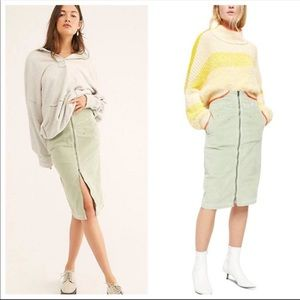 Free People We The Free I Want it All Cord Midi 29